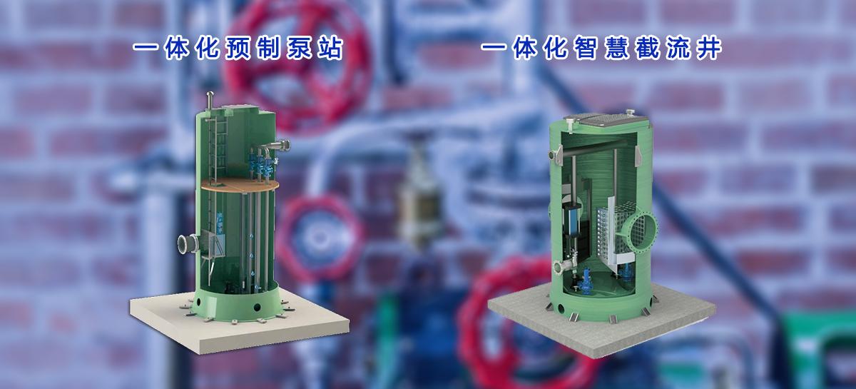 一体化泵闸